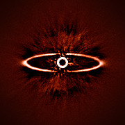 SPHERE images the dust ring around the star HR 4796A