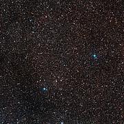 El cielo que rodea a la nova Centauri 2013