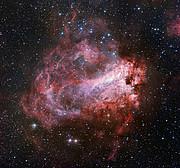La región de formación estelar Messier 17
