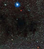 Parte de la nebulosa Saco de Carbón