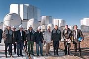 Primer ministro de Italia visita el Observatorio Paranal de ESO