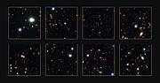 Descubiertas galaxias masivas en el universo temprano