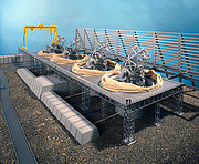 Model of the ESO Very Large Telescope