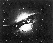 supernova 1986 G in the peculiar, southern galaxy Centaurus A (NGC 5128)