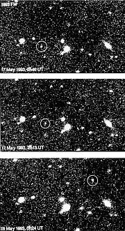 Trans-plutonian Minor Planet 1993 FW