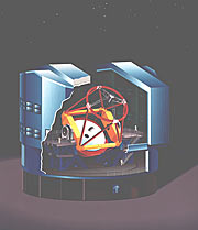 VLT Unit Telescope (Artist's Impression)
