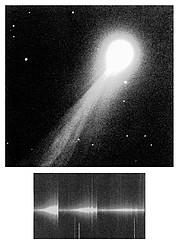 NTT Observations of Bright Comet 1995 Q1 (Bradfield)