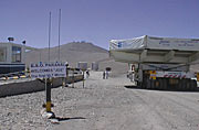 The 8.2-m VLT Mirror: Finally in Paranal