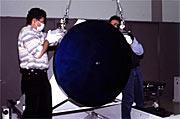 First VLT M2 Beryllium Mirror
