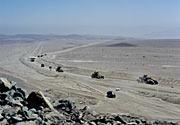 VLT M1 Convoy in the Desert