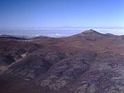 Aerial view of Paranal and Atacama desert