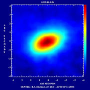 First Circumstellar Disk around a Massive Star