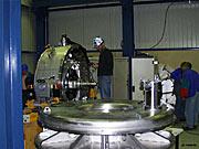 ISAAC at Paranal during the integration phase