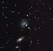 A Strange Supernova with a Gamma-Ray Burst
