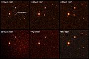 Supernova at Redshift z = 0.40