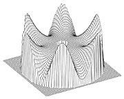 VLT Main Mirror Deformation (Six-fold Symmetry)