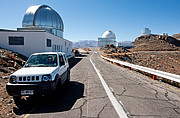 A Drive Through Time — How telescopes, and cars, have changed at La Silla (present-day image)