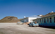 La Silla, det første hjem for ESO's teleskoper (historisk billede)