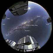 Aufnahme des Universums in Ultra High Definition