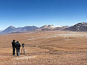 Filming The Eyes of the Atacama at the ALMA site
