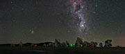 Die Milchstraße über ALMA als UHD-Panorama