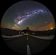 Fish-Eye View of La Silla Shown in UHD