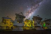The Milky Way over ALMA