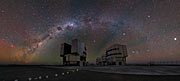 Panoramic shot of the VLT platform