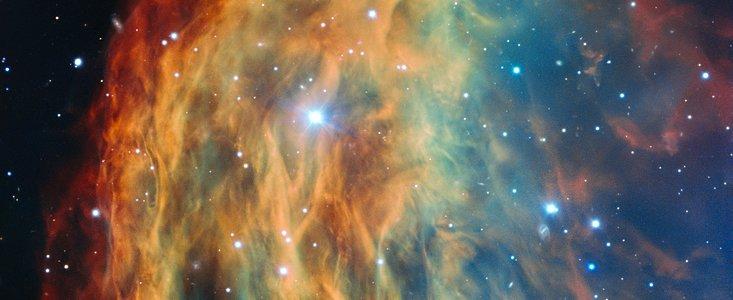Imágenes de la nebulosa Medusa captadas por el telescopio Very Large Telescope de ESO