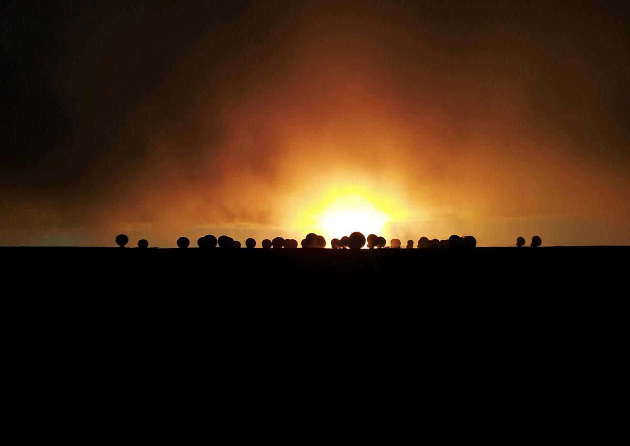 Fiery Sundown