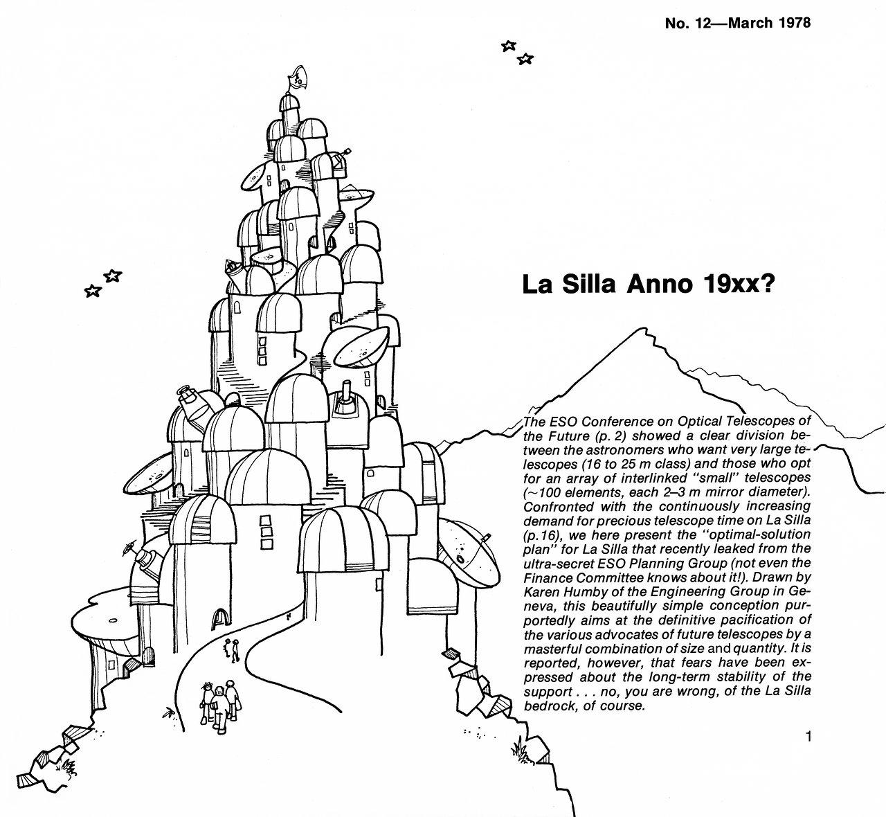 La Silla of the future...?