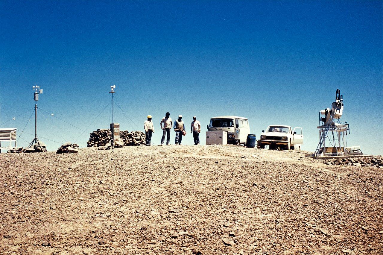Tools for site testing on Cerro Armazones