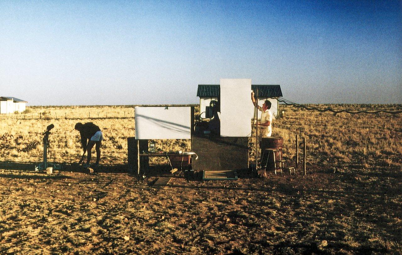 Site testing, Namibia