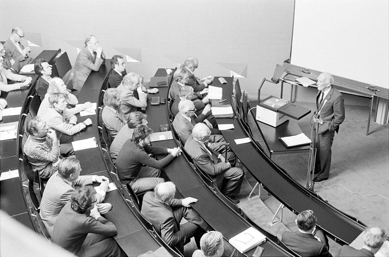 First Symposium at ESO HO, 1980