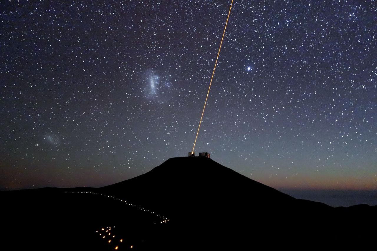 Paranal Observatory at Night