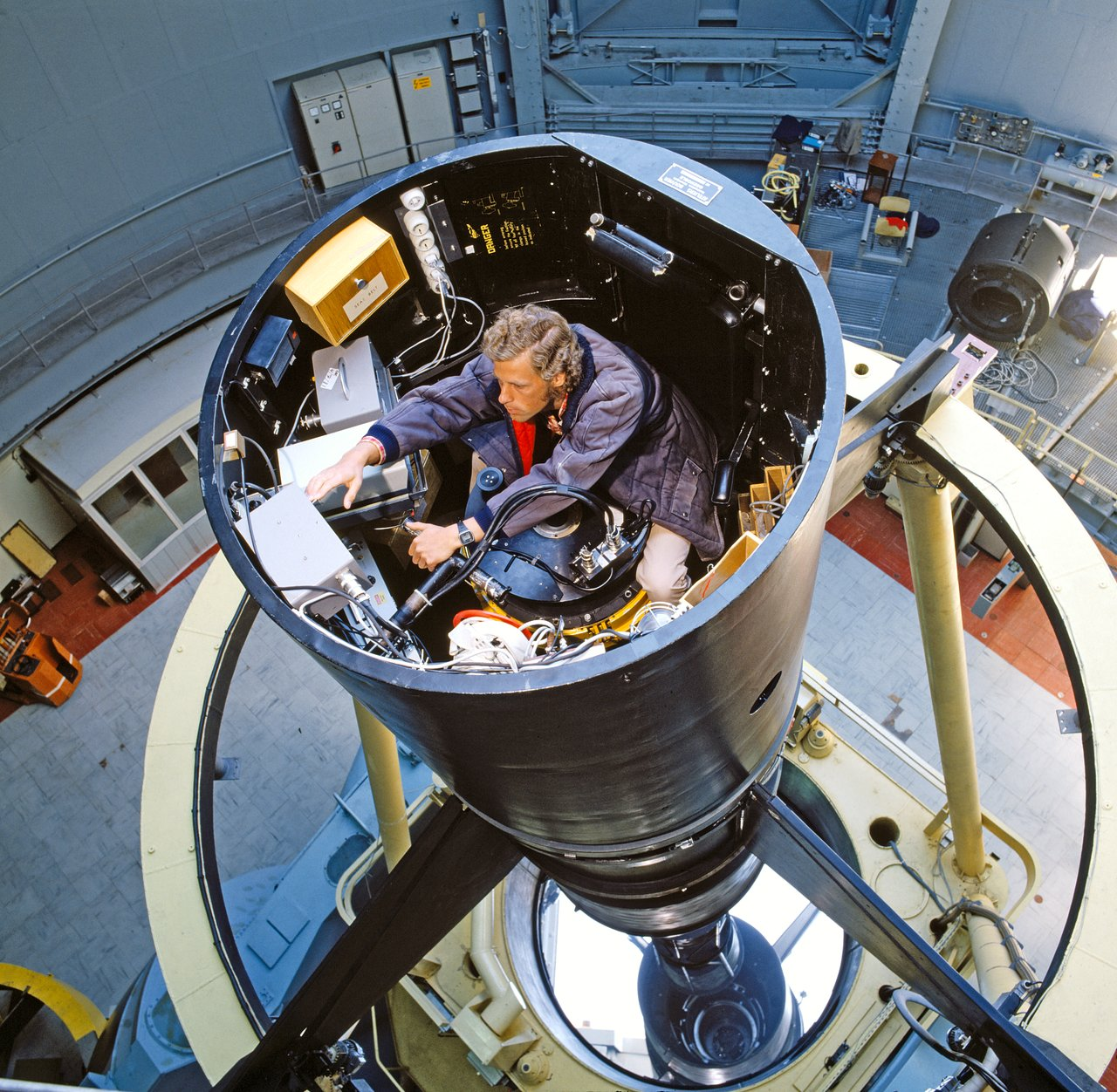 First light for the ESO 3.6-metre telescope