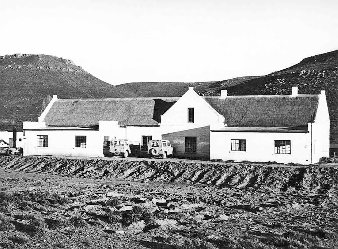 Staff housing on Klaverlei Farm