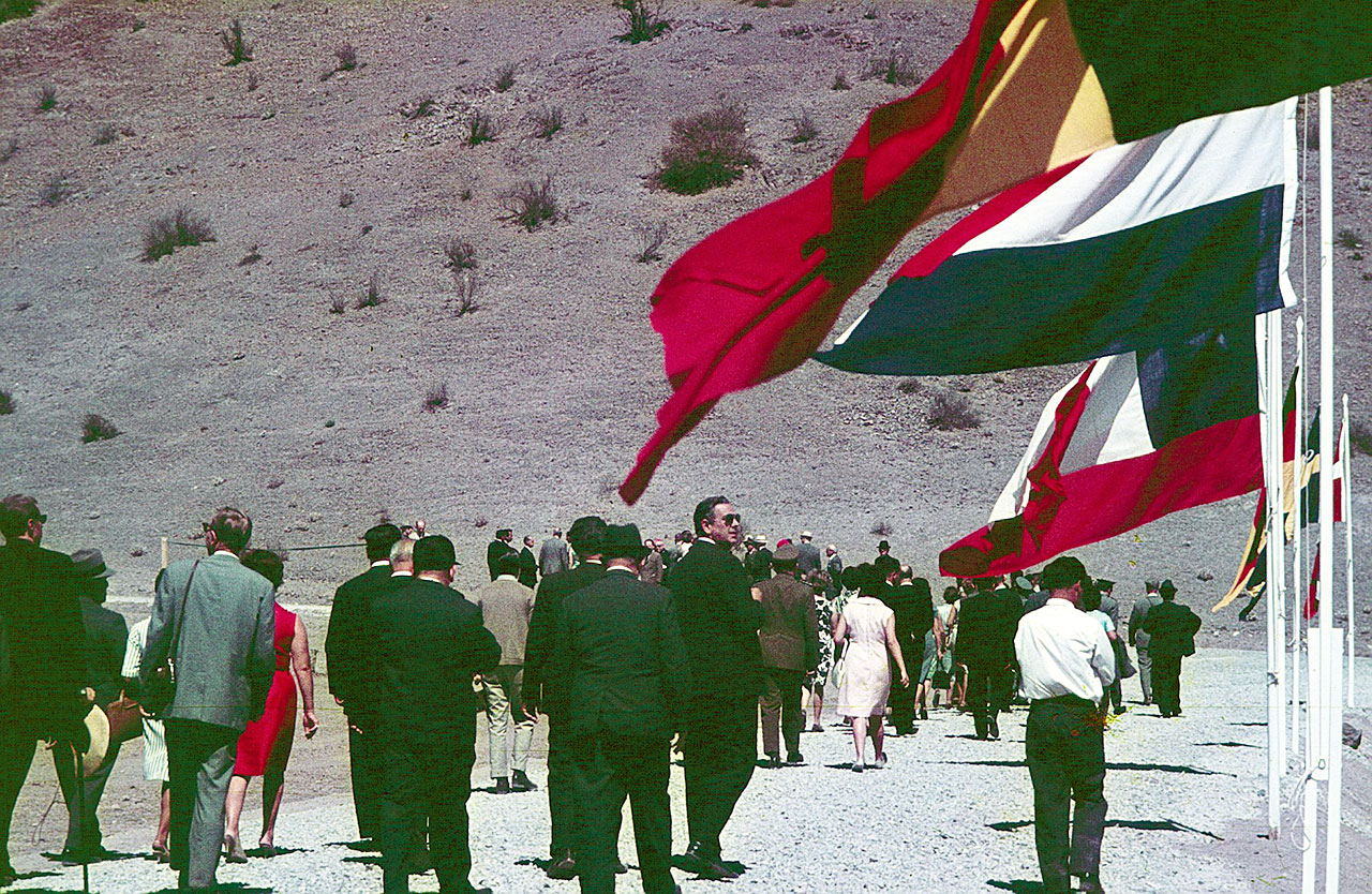 Inauguration of the road to La Silla observatory
