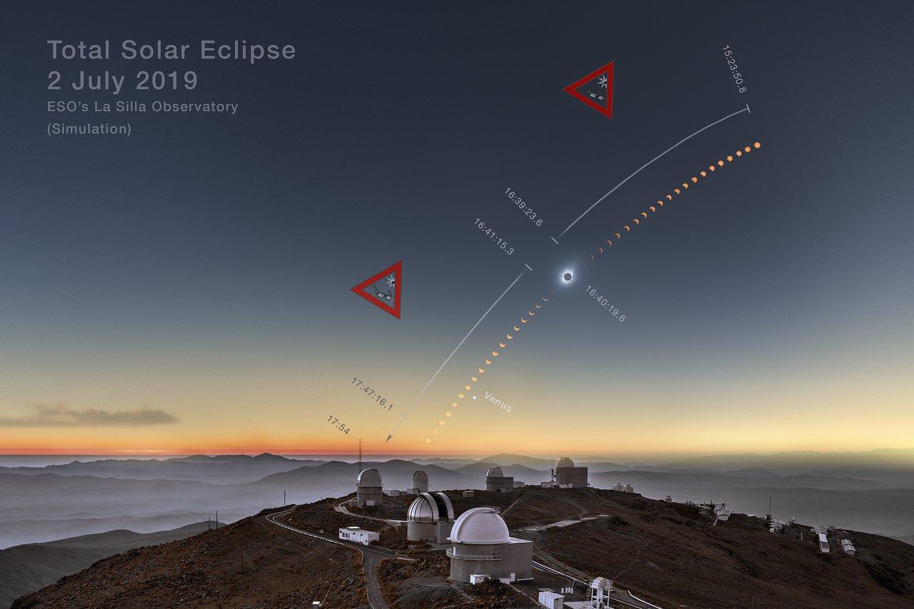 La Silla Solar Eclipse Webcast | ESO