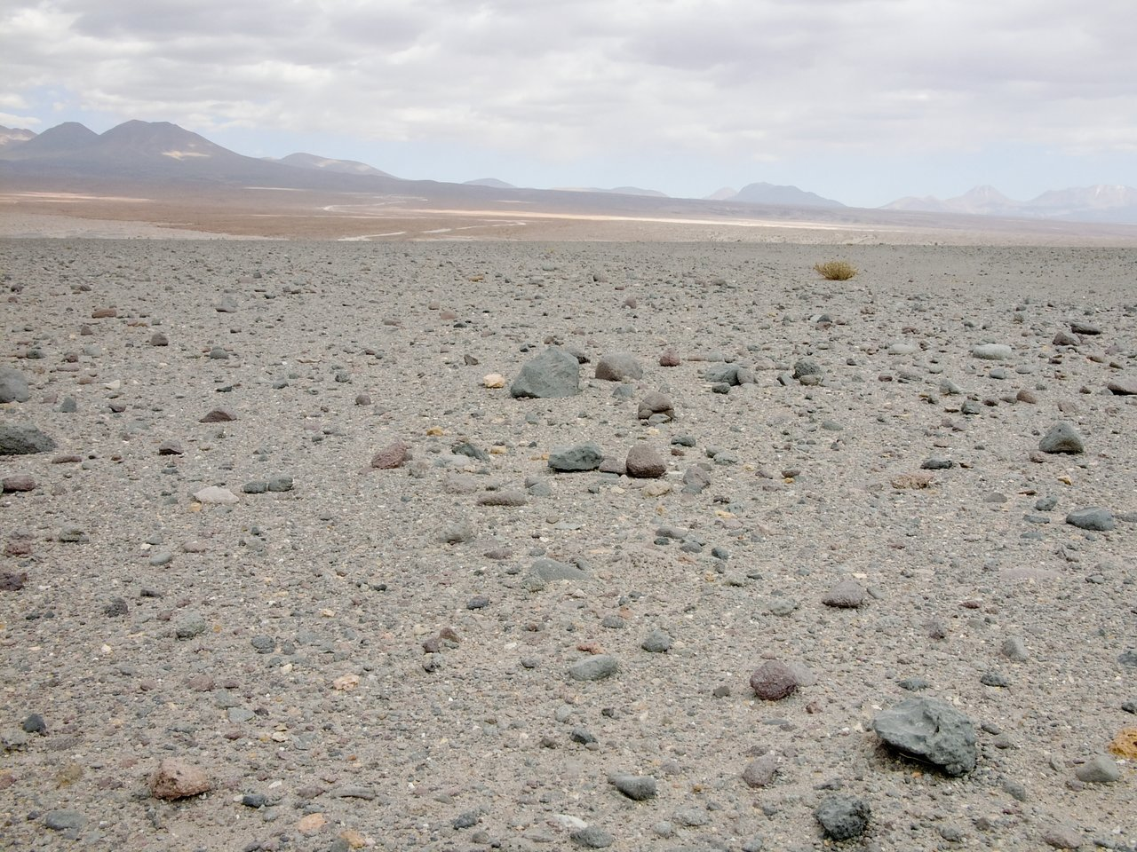 Mars-like landscape at the ALMA site