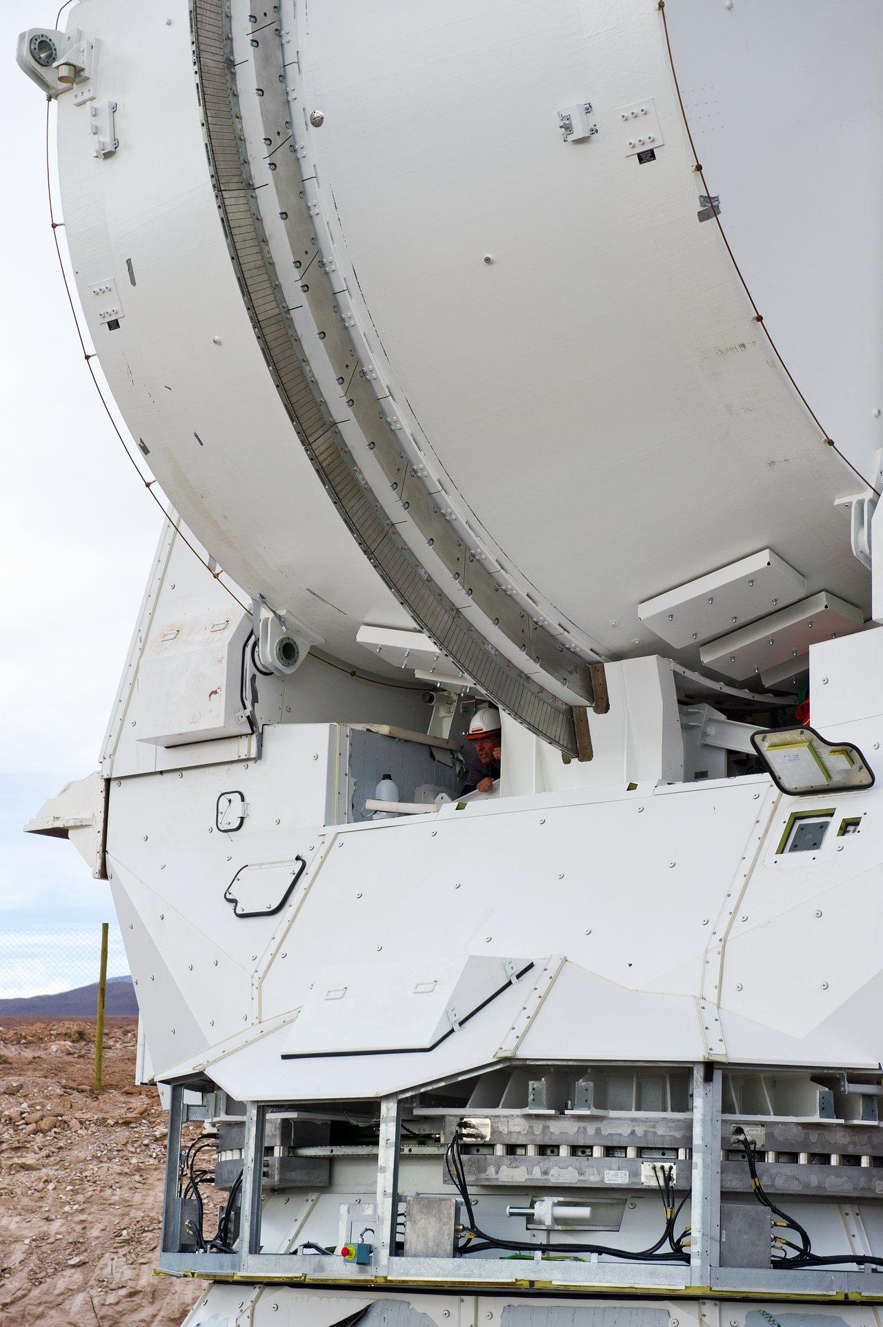 Working on a European Antenna