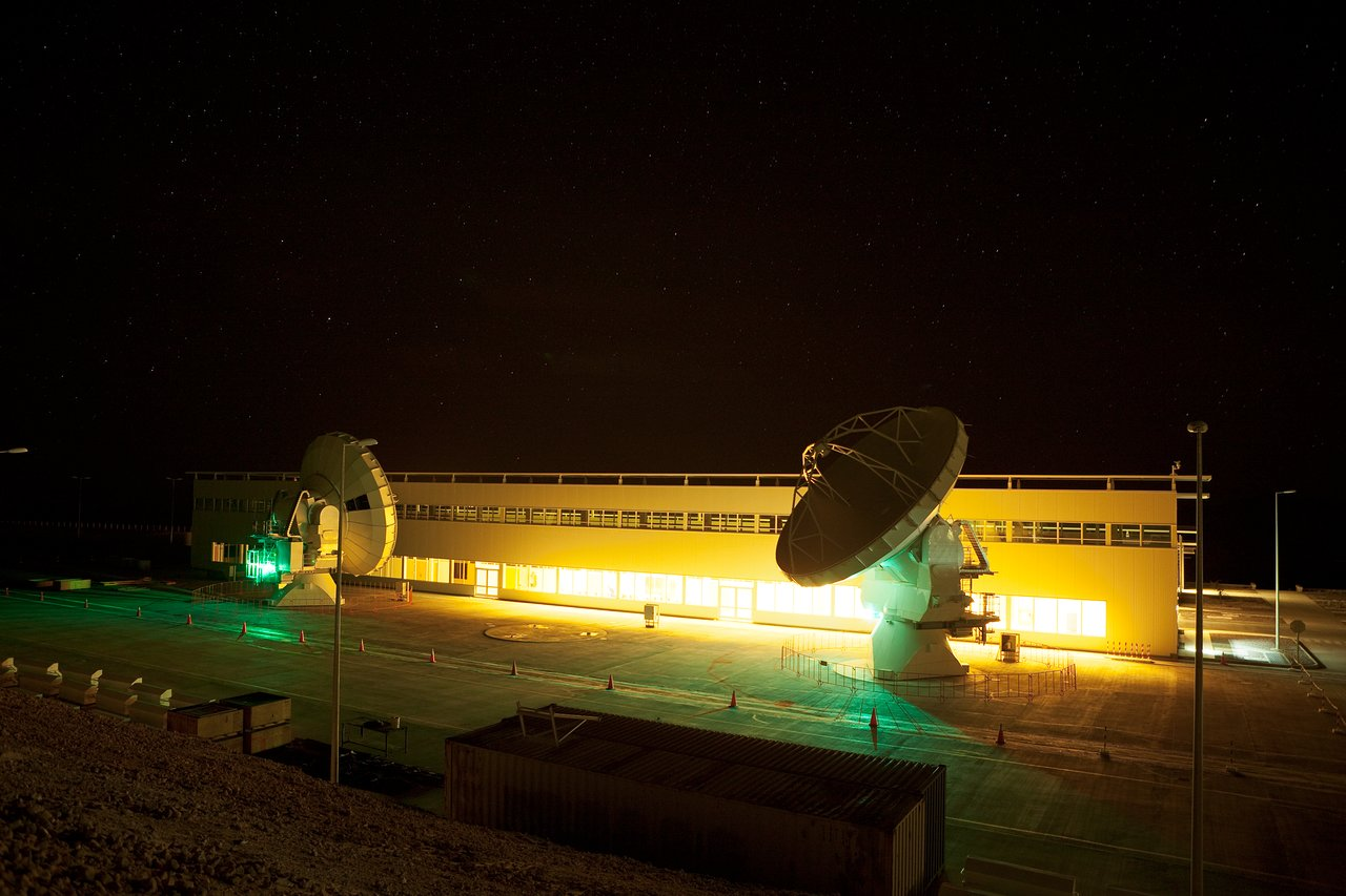 ALMA night testing