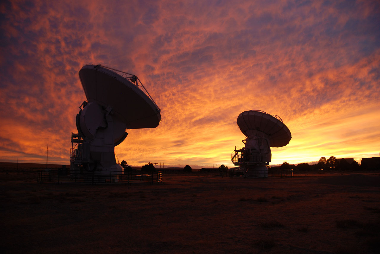 ALMA test site in New Mexico, USA