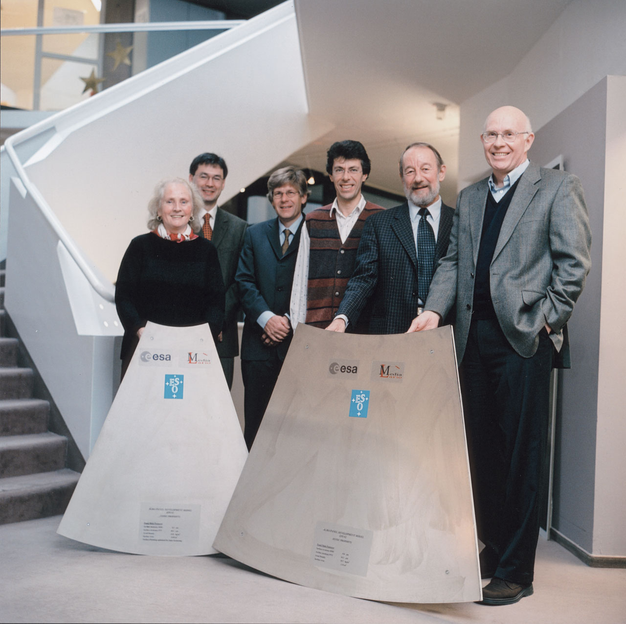 ALMA Team at ESO Headquarters