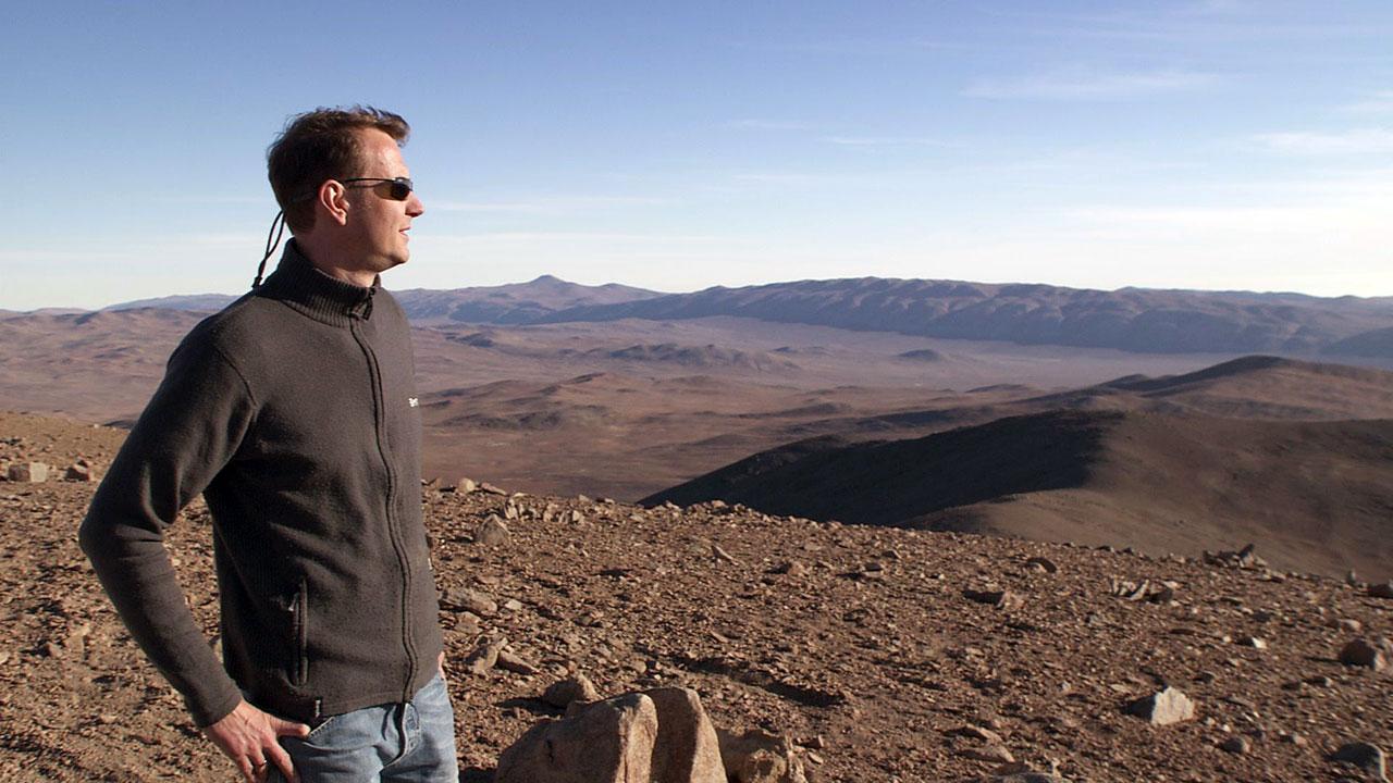 Joe Liske in the Atacama Desert