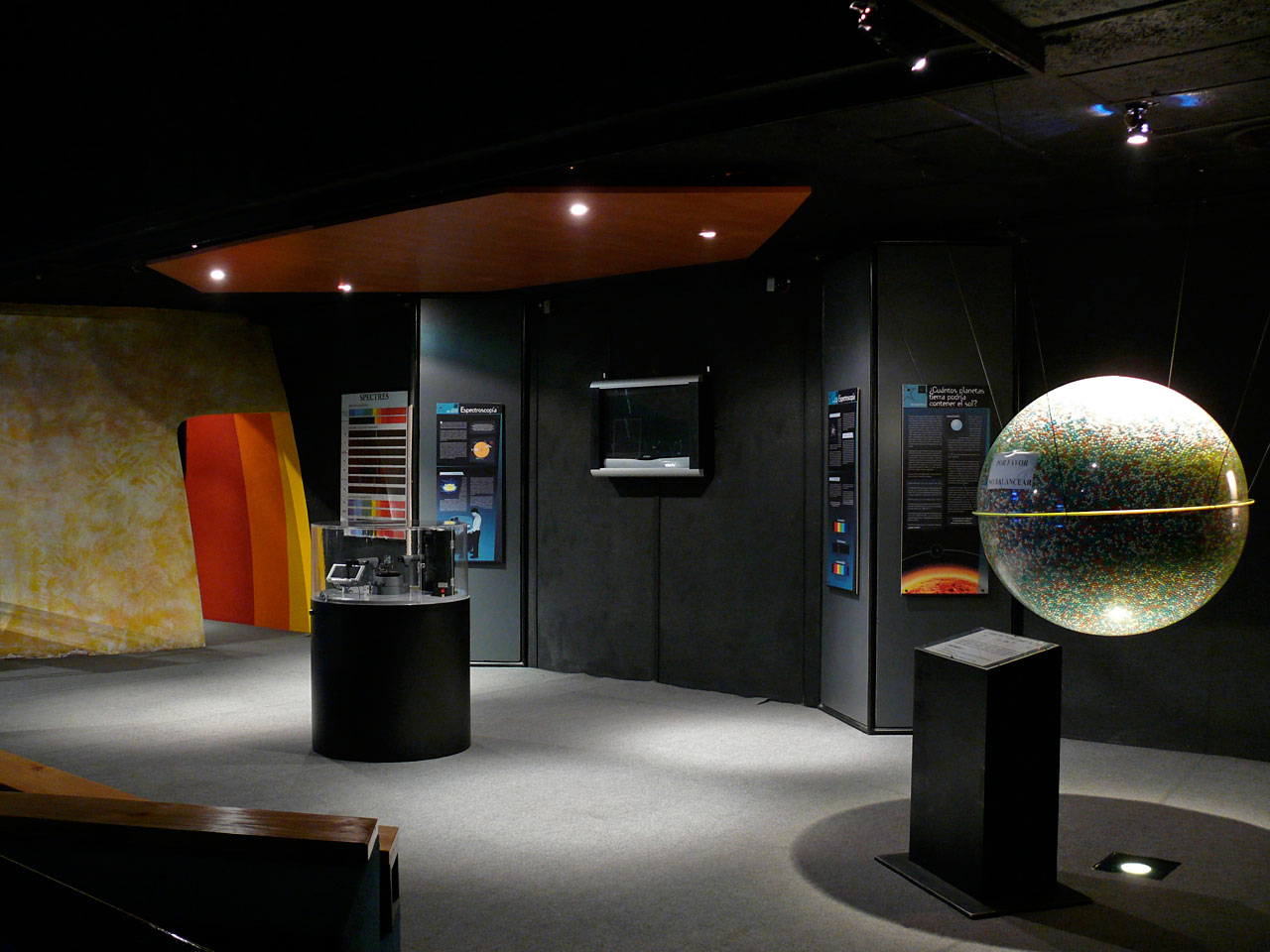 The Astronomy Hall at the Museum of Science and Technology, Santiago