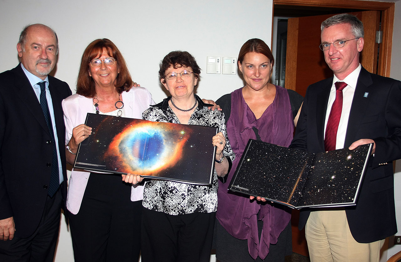 The launch of the Voices from the Universe book