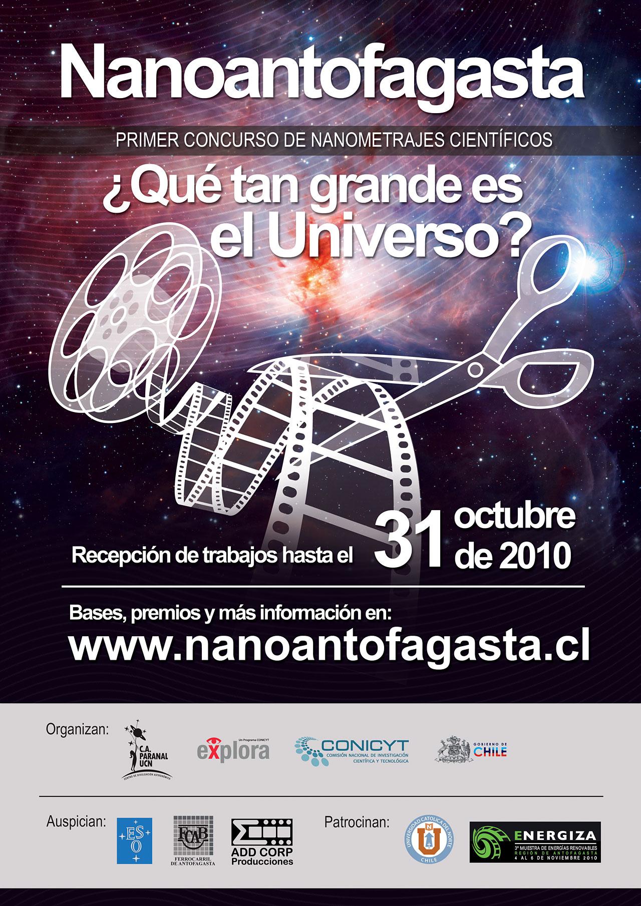 Poster for the Nanoantofagasta competition