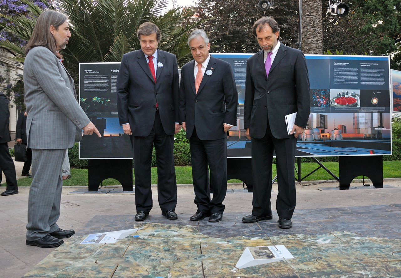 ESO Promotes Astronomy during Bicentennial Conference in Santiago, Chile
