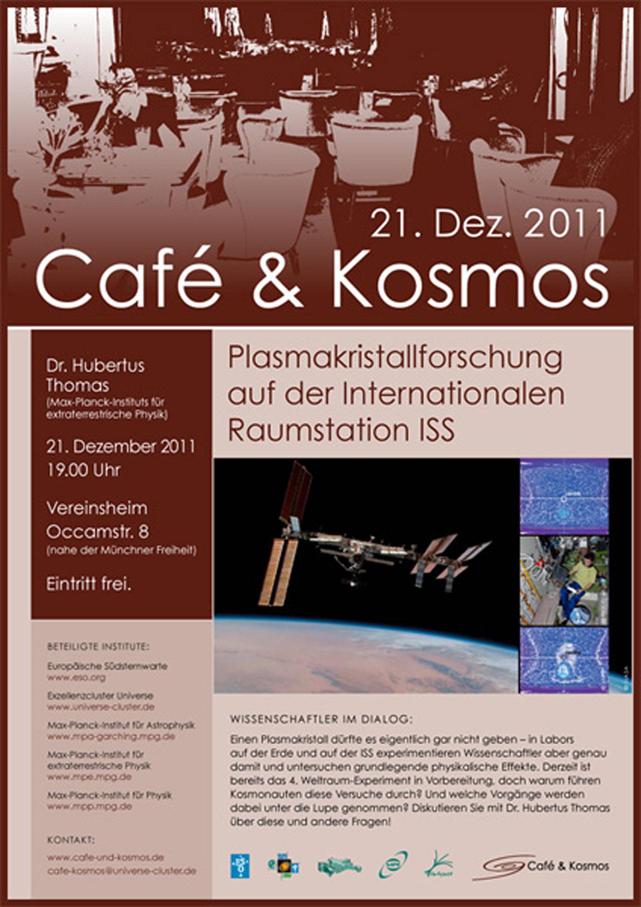Poster of Café & Kosmos 21 December 2011